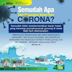 Semudah Apa Allah Mengangkat Wabah Virus Corona-Fajri FM